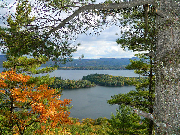 Another view of Newfound Lake from the summit of Little Sugar Loaf.