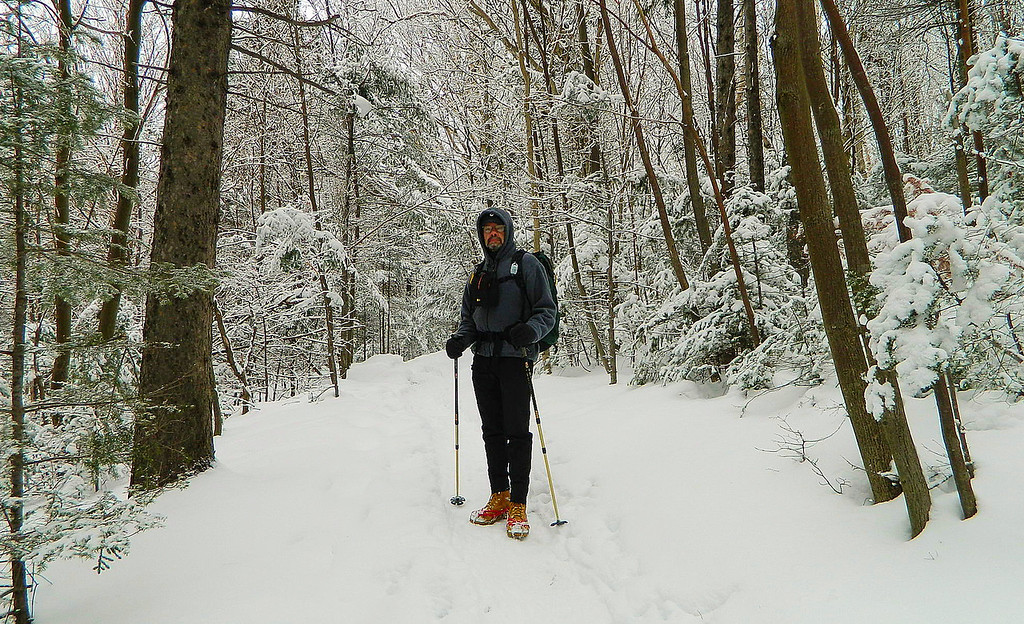 On the trail to Bald Mountain